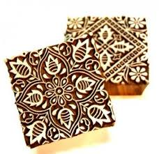 block design wood block printing fashion in india threads