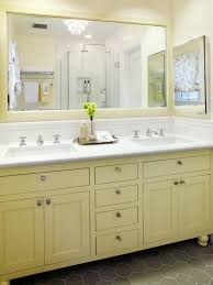 Painted Bathroom Vanity Ideas 10 Yellow Bathroom Ideas Hgtv U0027s Decorating U0026 Design Blog Hgtv
