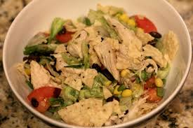 southwestern salad with chipotle ranch dressing normal cooking