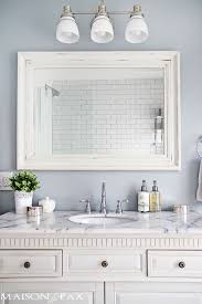 White Framed Mirror For Bathroom White Bathroom Mirror Framed Mirrors Golfocd