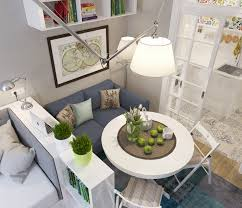 apartment small studio apartment with white wall paint and