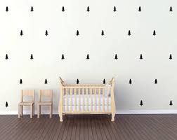 pine tree wall decal etsy