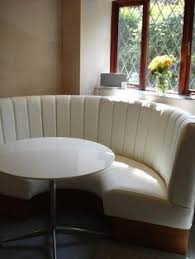 Banquette Seating Fixed Bench Fixed Vertical Fluted Back With Headroll From 230 00 Per Metre Syed
