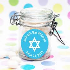 mitzvah favors personalized bar mitzvah favor jar bar mitzvah bat mitzvah