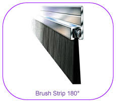 Garage Door Strip Seal by Brush Strips Strip Brushes Suppliers Brush Seals And Rubber
