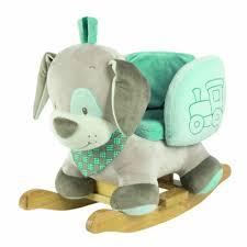 siege a bascule bebe fauteuil à bascule en forme de chien pour bébé pour jeux éveil a 15