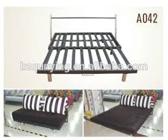 folding sofa bed frame inspiring double folding bed chion sales metal double recliner