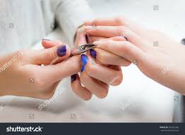 closeup finger nail care by manicure stock photo 342267266