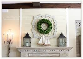 from my front porch to yours simple nautical summer mantel