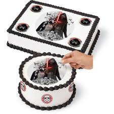 starwars cakes wars edible images cake decorating kit wilton