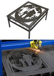 fishing coffee table metal design make your own metal coffee