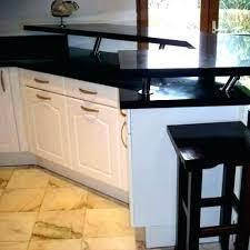 cuisine sur pied pied de plan de travail cuisine pied plan de travail cuisine bar