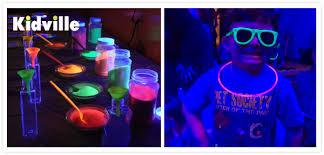 glow in the party glow in the party at kidville voices from the ville