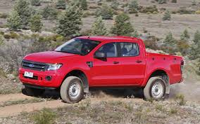 Yellow Ford Ranger Truck - global market 2012 ford ranger first drive motor trend