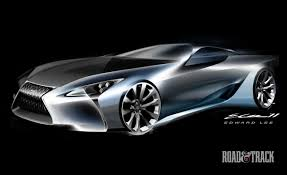 lexus lf fc photos lexus lf lc concept sketches