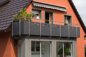 balkon lochblech geländer wittmer metallbau