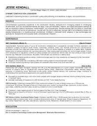 Mechanical Foreman Resume Download Construction Superintendent Resume Haadyaooverbayresort Com