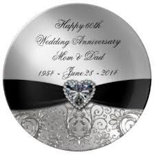 60th wedding anniversary wishes custom wedding anniversary decorative plates uk