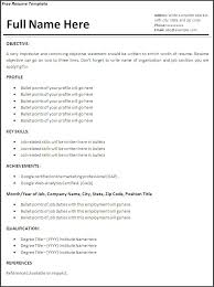 resume google resumes examples simple resume cover letter
