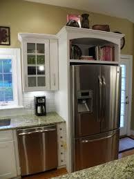 above refrigerator cabinet 6103