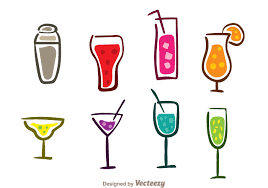 cocktail icon vector czeshop images cocktail icon
