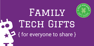 shared family tech gifts for and grown ups