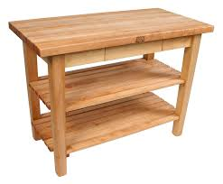 Kitchen Work Tables Islands by John Boos Country Work Table Butcher Block Table