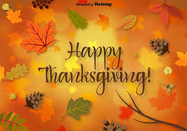 vector thanksgiving background free vector stock