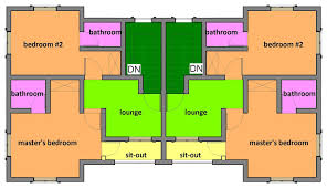 2 bedroom semi detached floor plan u2013 home plans ideas
