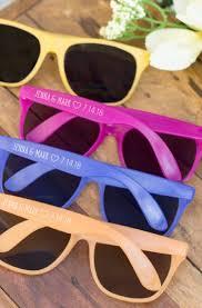 personalized sunglasses wedding favors 10 unique wedding favor ideas weddingdresses