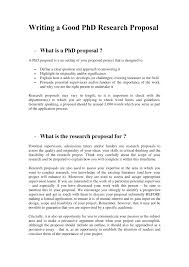 how do you write a proposal for a research paper writing a good phd research proposal pdf download available