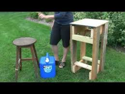 c sink with foot pump how to build portable hand washing station youtube