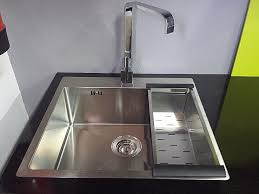 meuble de cuisine avec evier inox meuble sous evier 80x60 luxury meuble de cuisine avec evier inox