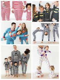 a must striped pajama clad family s