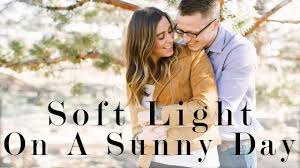 Soft Light Photography Soft Light In Mid Day Sun Photography Engagement Session Ep2