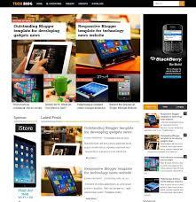 25 free technology blogger templates for tech blogs bloggers origin
