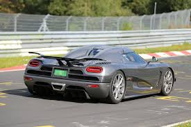 koenigsegg newest model koenigsegg working on new agera here are the nurburgring spyshots