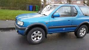 isuzu amigo hardtop frontera rs sport manchester blue hard top youtube