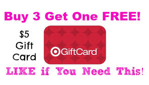 5 gift cards expired target 5 gift card buy 3 get one free