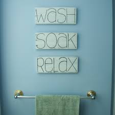 Bathroom Wall Decorations Wash Soak Relax Bathroom Decor Bathroom Signs Shabby Chic