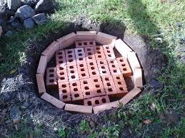How To Make A Firepit Out Of Bricks Building Brick Firepit Tips Home Fireplaces Firepits