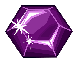party rooms club penguin wiki fandom powered by wikia amethyst pin
