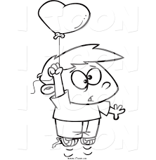 balloon boy coloring sheets alltoys for