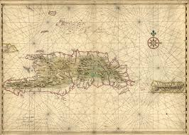 Map Of Puerto Rico Map Of The Islands Of Hispaniola And Puerto Rico World Digital