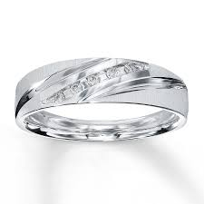 10k white gold wedding band men s wedding band 1 15 ct tw cut 10k white gold