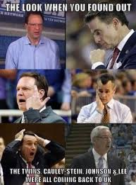 Kentucky Basketball Memes - the number 1 program in all of college basketball history for a
