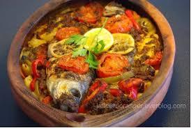 cuisiner la lotte au four tajine de poisson au four à la marocaine