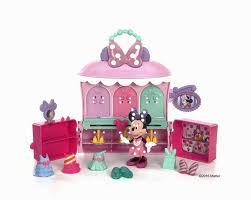 Minnie Mouse Bowtique Vanity Table Disney Minnie Mouse Sparkle U0027n Spin Fashion Bow Tique Dmc78