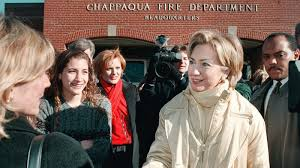 growing up in protected americana hillary clinton looked outside