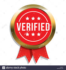 Seal Ribbon Verified Badge Vector With Ribbon Stock Vector Art U0026 Illustration